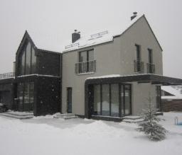 Namas Vilniuje. Nauja statyba