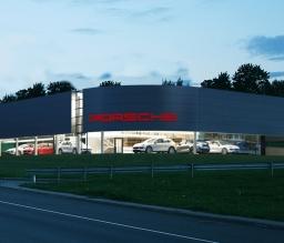 Autosalonas Porsche
