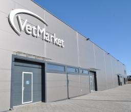 Vetmarket veterinarinės farmacijos sandėliai 1400 m2