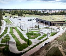 Prekybinės paskirties pastatas Žalia IKI Vilnius